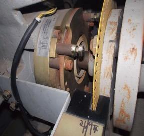 こちらが巻上機クラッチブレーキシステムです。