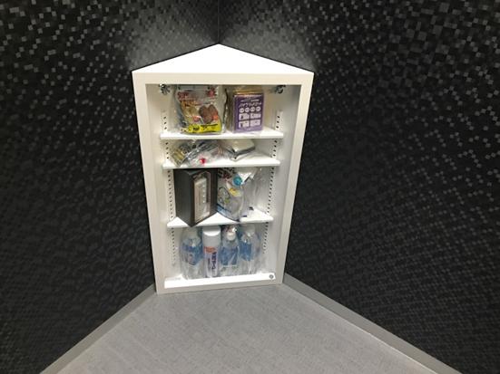 防災ボックス・中身(非常食やお水等が入ってます)