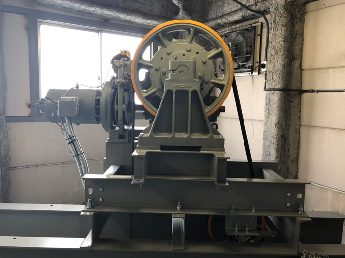 新:巻上機・モーター