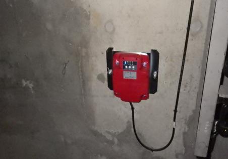 耐震対策:地震管制雲梯装置(S・P波)