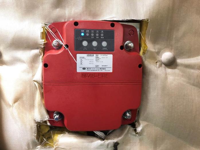 新:地震感知器 地震発生時に最寄階に停止し、ご利用者様の安全を確保致します。※S波 本震感知に加えP波 初期微動感知を追加