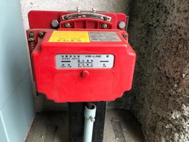 耐震対策 旧:地震時管制運転装置(S波)※地震時にエレベーターを最寄階に停止し、扉を開きます
