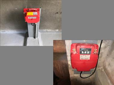 耐震対策 新:地震時管制運転装置(S波・P波)※新たにP波を追加いたしました